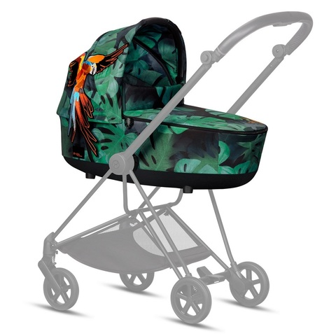 Cybex Mios Lux Carrycot Birds of Paradise