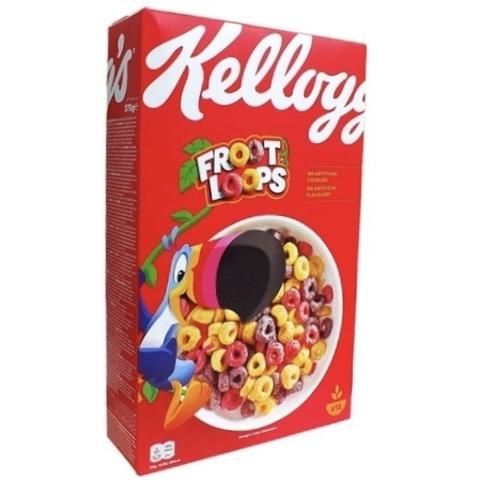 Готовый завтрак Kellogg's Froot Loops 357 гр