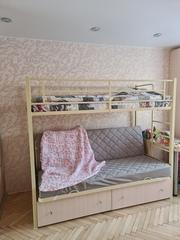 Двухъярусная кровать диван Дакар 1