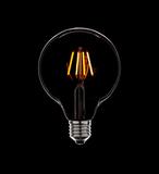 ретро–лампа Mega Filament Bulb G125-2Led
