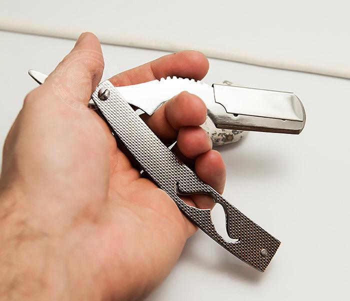 RAZ251-2 Стальная опаска шаветка для сменных лезвий фото 07