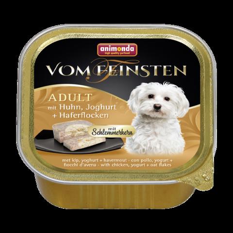 Animonda Vom Feinsten Adult Меню для гурманов Консервы для собак с курицей, йогуртом и овсяными хлопьями (Ламистер)