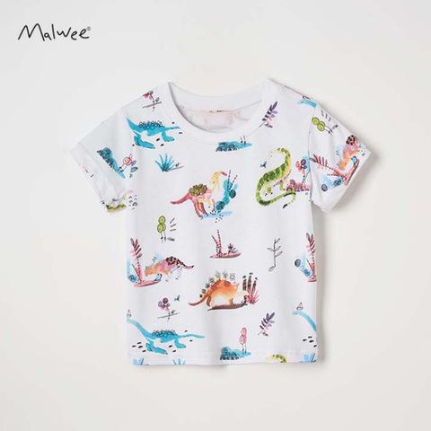 Футболка для мальчика Malwee Динозавры