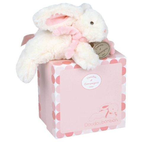 Doudou et Compagnie. Smail pink rabbit - BONBON