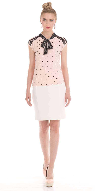 Юбка Б779-395 - Прямая классическая юбка прекрасно сочетается с любым верхом, подойдет как для офиса так и для повседневной жизни.