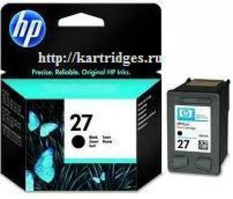 Картридж Hewlett-Packard (HP) C8727AE №27