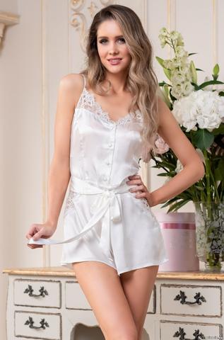 Комбидресс пижама женская Mia-Amore EDITA ЭДИТА 3675 белый