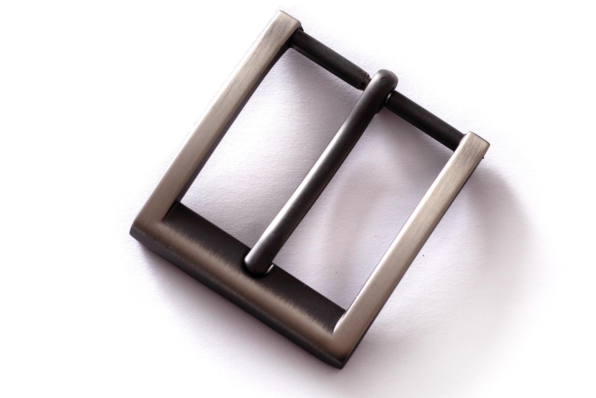 Пряжка 35 мм, черный никель матовый цв.