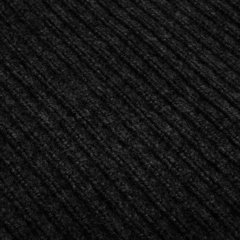 Коврик влаговпитывающий, ребристый, черный, 40*60 см