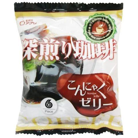 Желе Конняку со вкусом кофе Yukiguni Aguri 108 г
