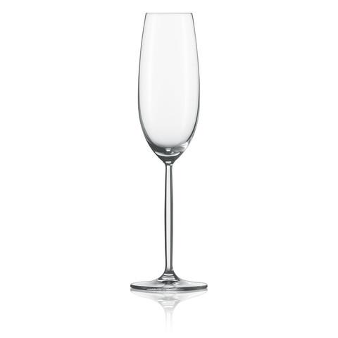 Набор фужеров для шампанского 220 мл, 2 шт, Diva