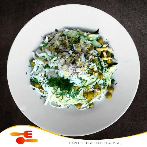 Салат вкусный-капустный