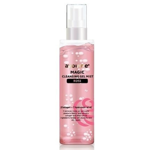 AYOUME Magic cleansing gel mist / Rose