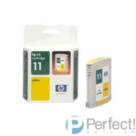 HP C4838AE Картридж №11, yellow {IJ 2200/2250/2230/2280/2600, Yellow (28ml)}