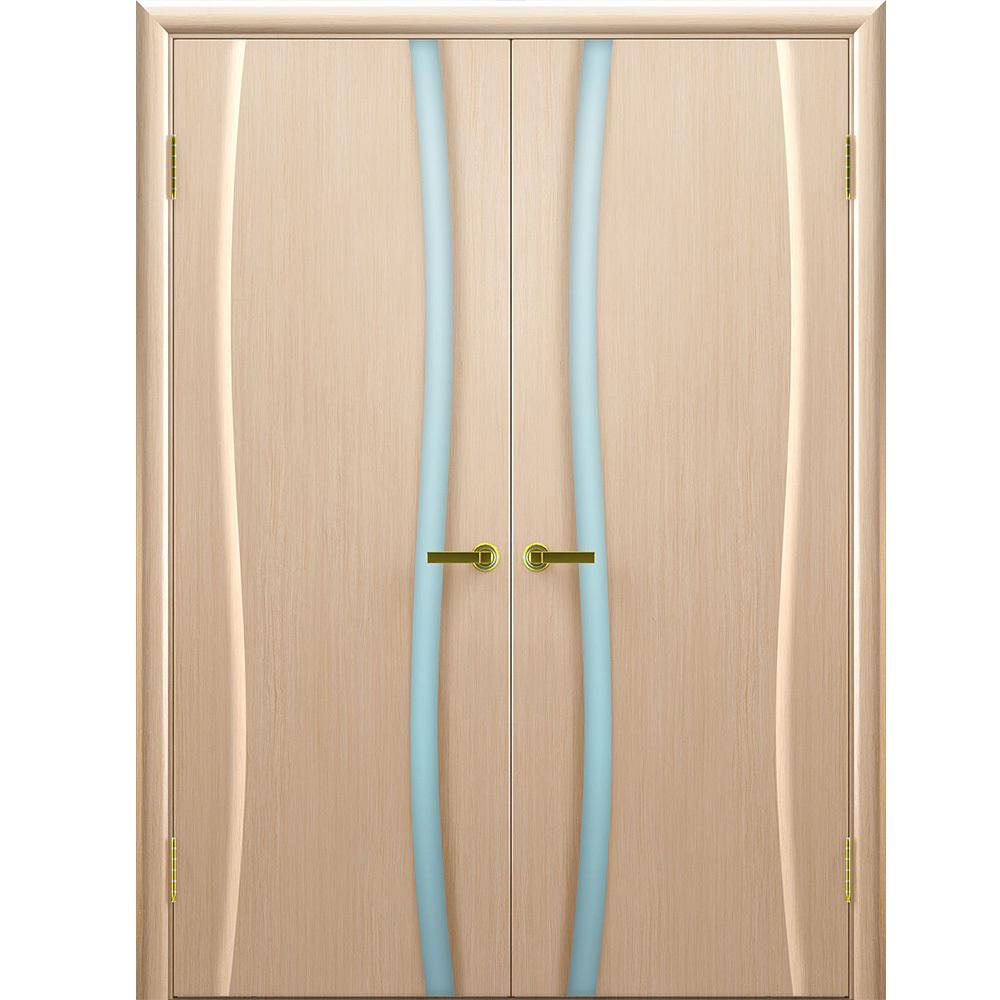 Двустворчатые двери Межкомнатная дверь шпон Legend Клеопатра 1 белёный дуб распашная двухстворчатая со стеклом kleopatra-1-bel-dub-por-dvertsov.jpg