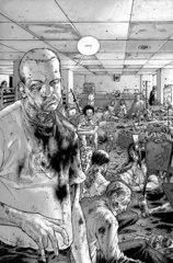 Ходячие мертвецы. Книга первая. Альтернативная обложка для МКК Хэллоуин 2016 (Б/У)