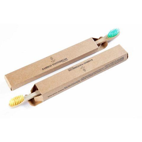 Бамбуковая зубная щётка BioCase в коробке