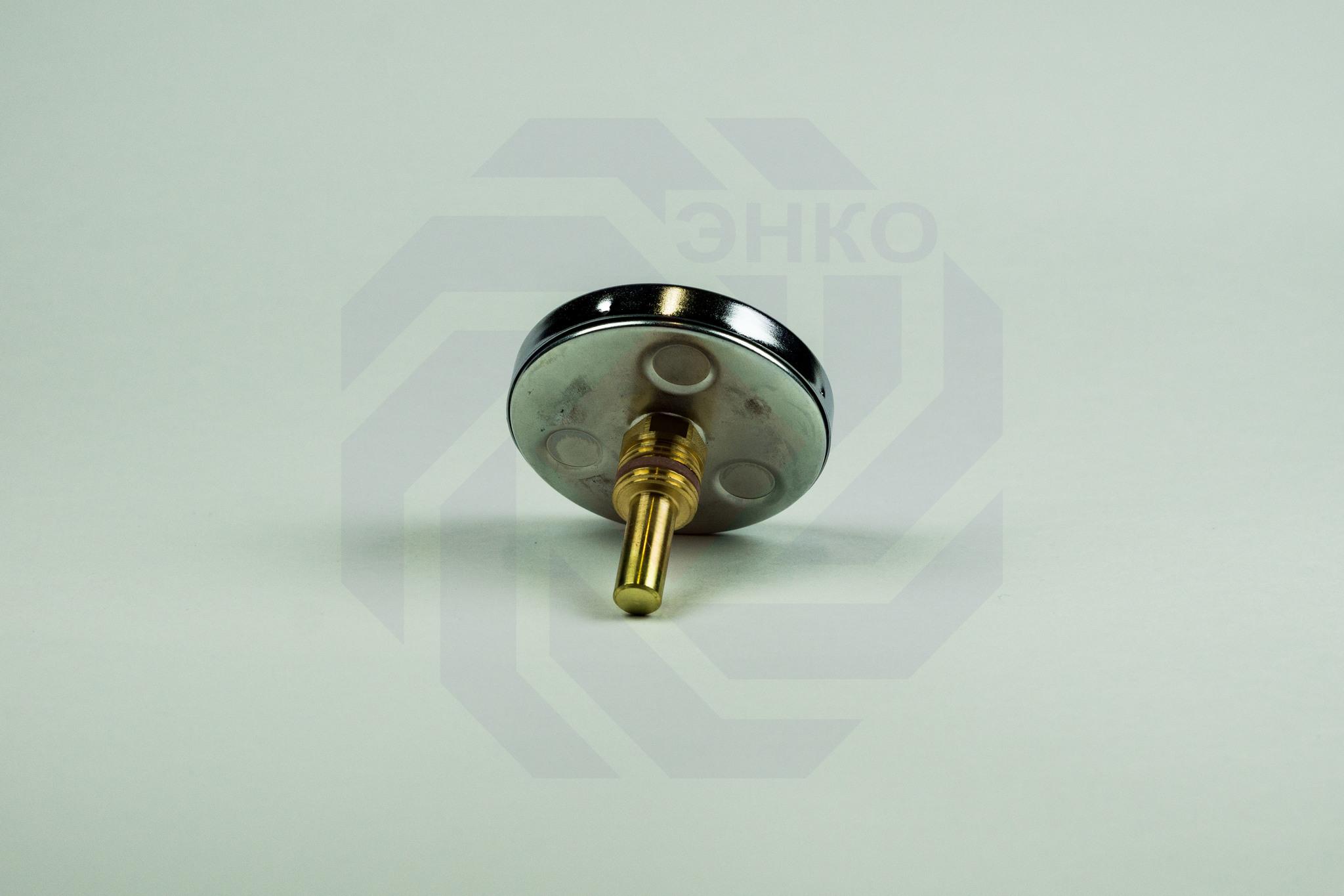 Термометр биметаллический аксиальный WATTS F+R801 SD 0-120 °С 80 мм ½