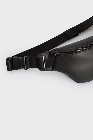 Мужская черная поясная сумка Calvin Klein