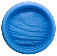 Бассейн надувной детский INTEX голубой диаметр 114см 59416NP