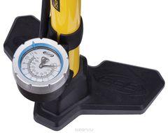 Велонасос напольный BBB AirBoost steel pump желтый - 2