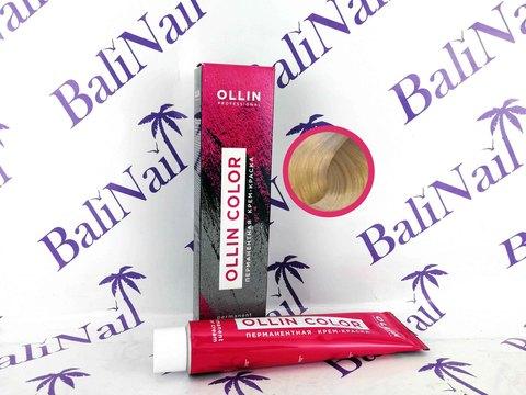 OLLIN COLOR 10/0 светлый блондин 60мл Перманентная крем-краска для волос