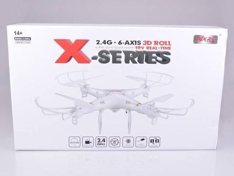 Радиоуправляемый квадрокоптер MJX X705C HD FPV White 2.4G - X705C-W