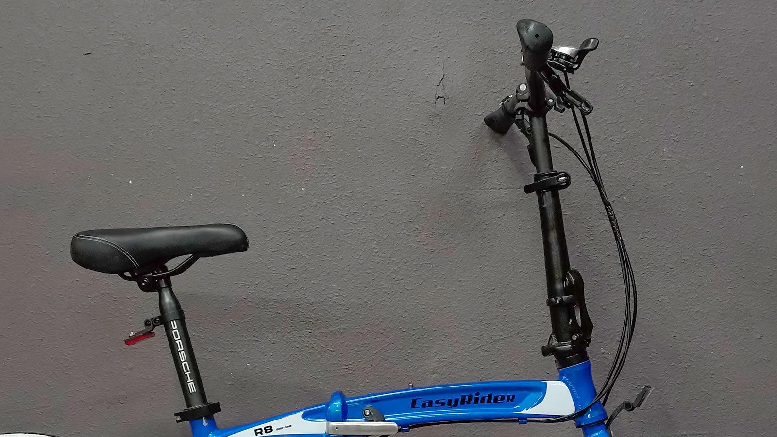 сидение руль складной велосипед