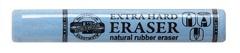 Ластик для графита, пастели и чернил EXTRA HARD 6642, D=12х75мм, голубой