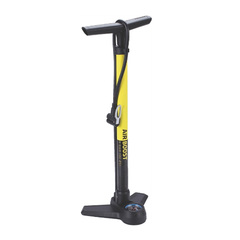 Велонасос напольный BBB AirBoost steel pump желтый