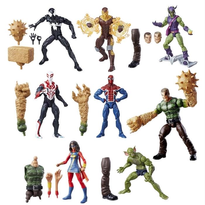 Марвел Легенд фигурки Человек паук Бесконечность серия 05