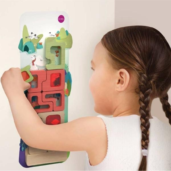 Vertiplay Игрушка на стену- Магнитная игра Таинственный аквариум
