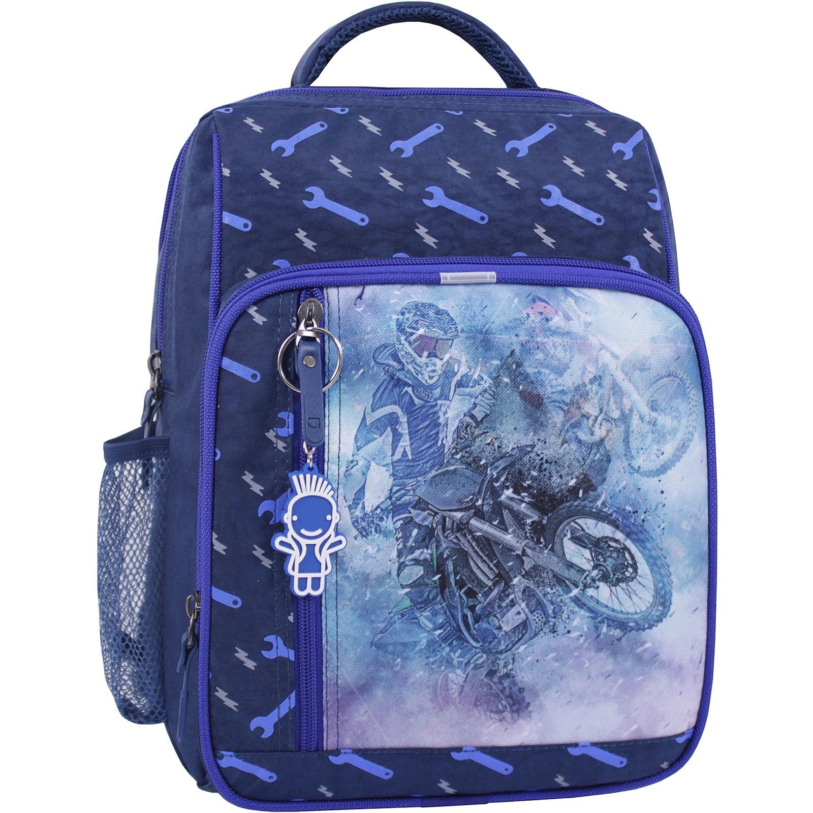 Школьные рюкзаки Рюкзак школьный Bagland Школьник 8 л. синий 534 (0012870) IMG_1037_суб.534_.JPG