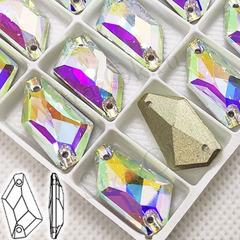 Купить пришивные стразы Crystal AB, De-Art в Новосибирске