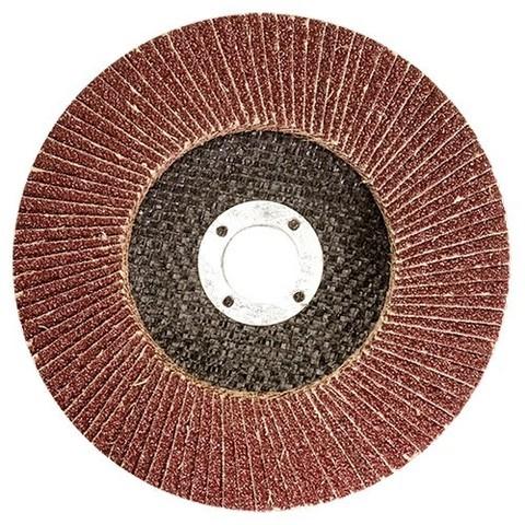 Круг лепестковый торцевой, P 60, 115 х 22,2 мм Matrix