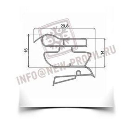 Уплотнитель 37*57 см для холодильника Zanussi ZRD33ZWO (морозильная камера)  Профиль 022