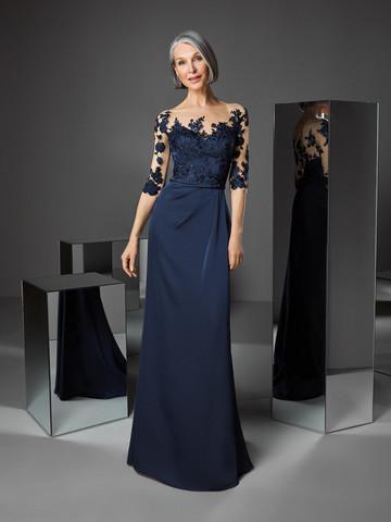 Вечернее платье классическое с лифом