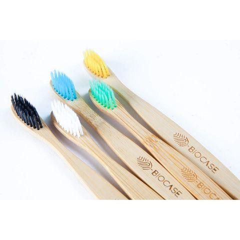 Бамбуковая зубная щётка BioCase ассортимент