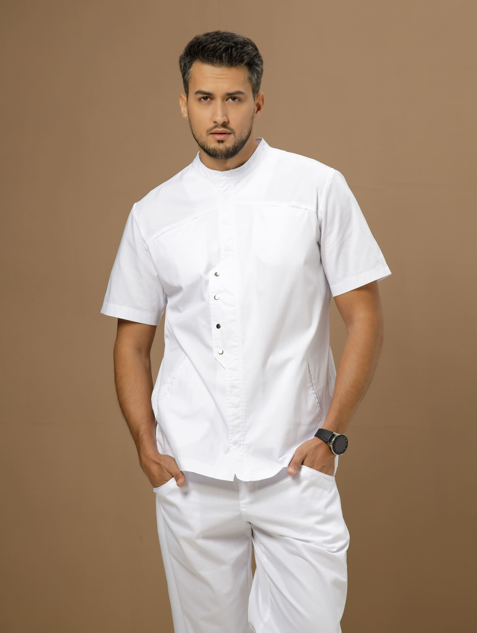 Блуза мужская медицинская М 416