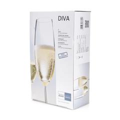 Набор фужеров для шампанского 220 мл, 2 шт, Diva, фото 5
