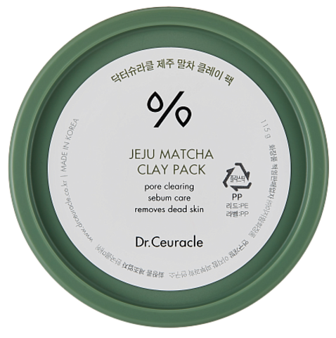 Dr.Ceuracle Маска очищающая маска с матчей - Matcha clay pack,115г