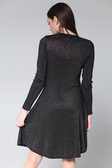 Платье из люрекса и полиэстера оптом