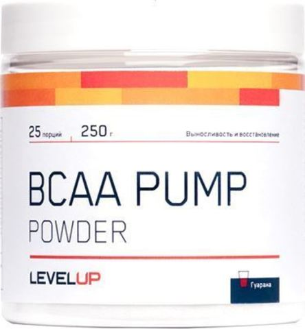Аминокислоты LevelUp BCAA Pump Powder