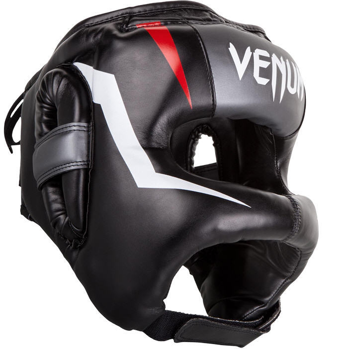 Шлемы Шлем Venum Elite Iron Headgear Black/Red 1.jpg