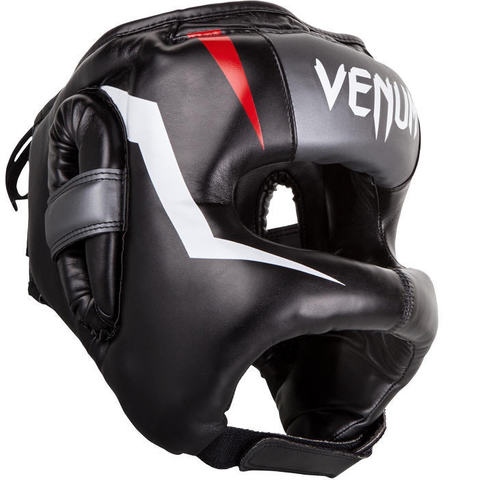 Шлем Venum Elite Iron Headgear Black/Red