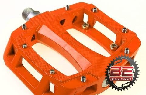Педали Wellgo LU-A52 оранжевые