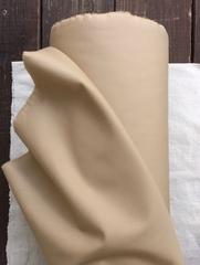 Отрез 1,65м, Габардин с пропиткой, хлопок 100%, цвет Бежевый тренч