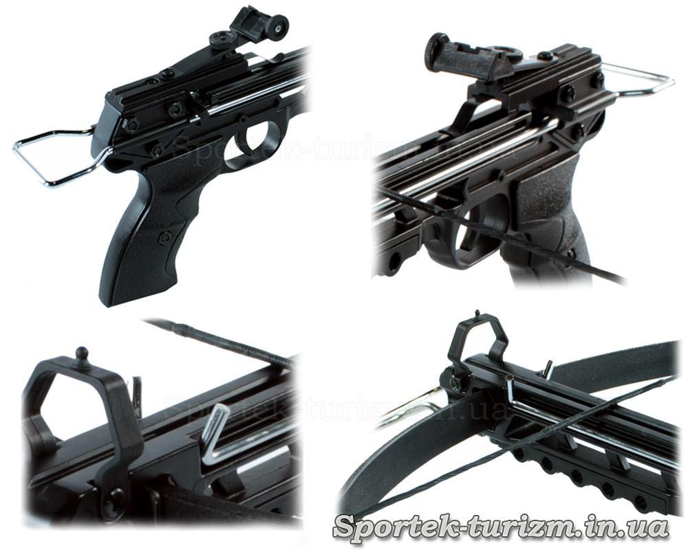 Виды пистолетного арбалета Man Kung MK-80A3