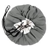 Коврик-мешок для игрушек Play&Go. Коллекция Classic. Серый