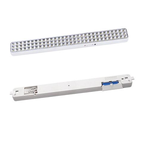 светильник аварийного освещения KL-90 – вид спереди и с обратной стороны